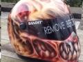 Hardcore Zombie Helmet.
